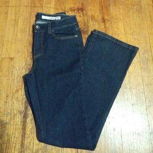 DKNY darkwash boot cut  jeans